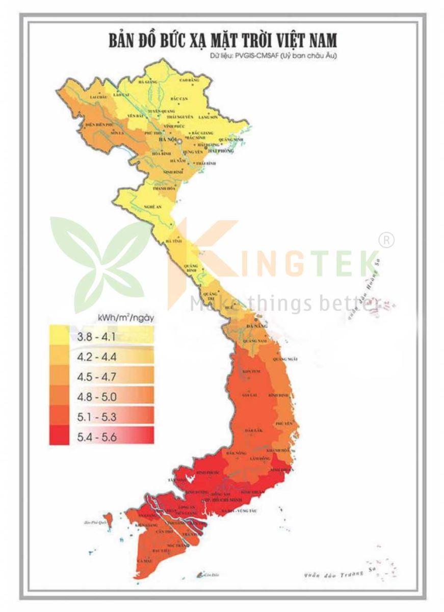 Việt Nam có tiềm năng phát triển điện năng lượng mặt trời