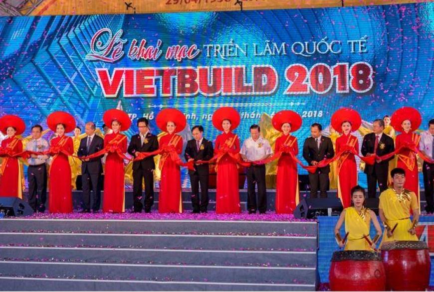 Alpha Sài Gòn tham gia Triển lãm quốc tế VietBuild